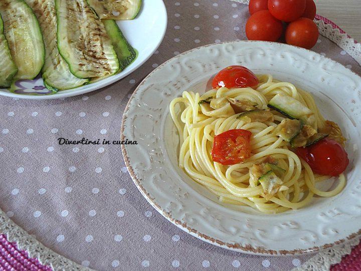 Spaghettata veloce estiva