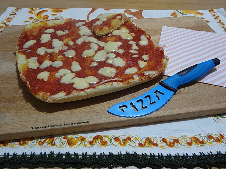 Pizza velocissima in padella