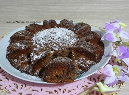 Torta ricotta e cioccolato soffice e golosa