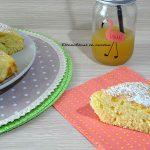 Torta al limone e yogurt soffice e spugnosa