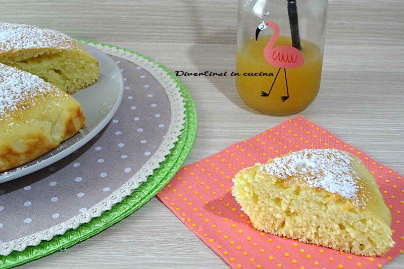 Torta limone e yogurt soffice e spugnosa