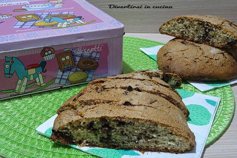 Biscottoni al cioccolato di Anna Moroni