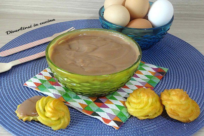 Crema pasticcera alla Nutella golosissima