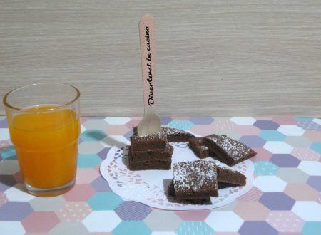 Brownies alla Nutella velocissimi
