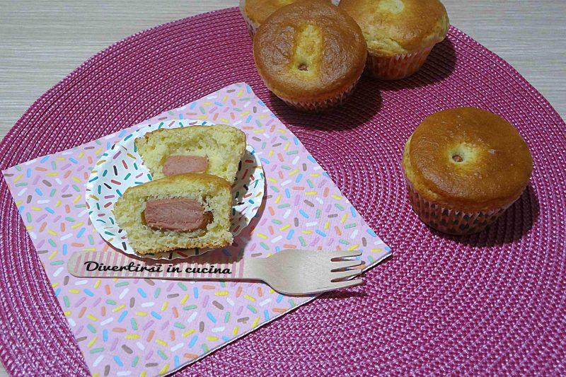 Muffin con i wurstel ricetta velocissima