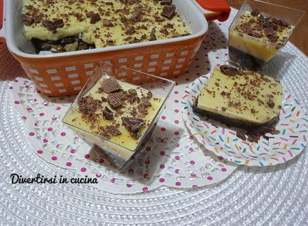 Torta budino il dolce più facile del mondo