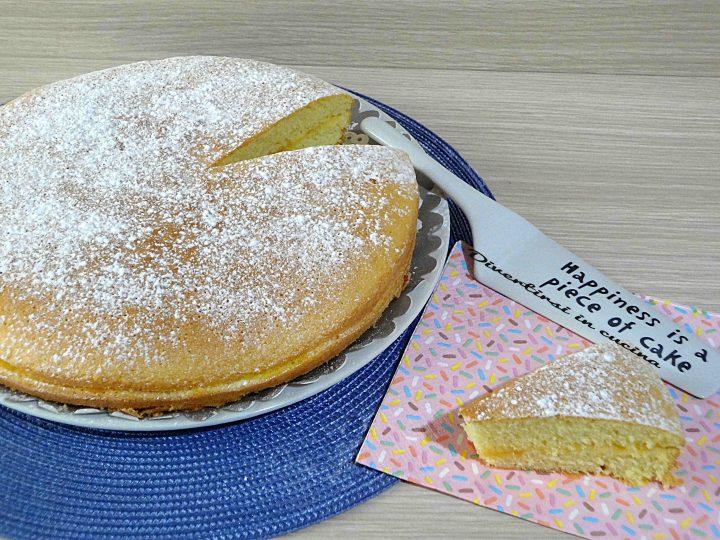 Torta Sofficissima Al Limone Senza Burro Divertirsi In Cucina