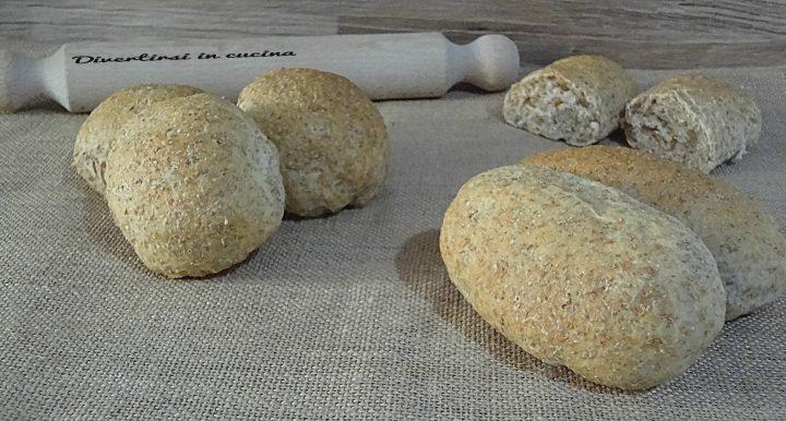 Panini morbidi con farina integrale