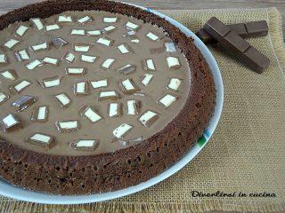 Torta con barrette al cioccolato