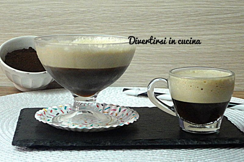 Caffè shakerato con e senza  Bimby