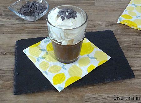 Coppa cioccolato e panna