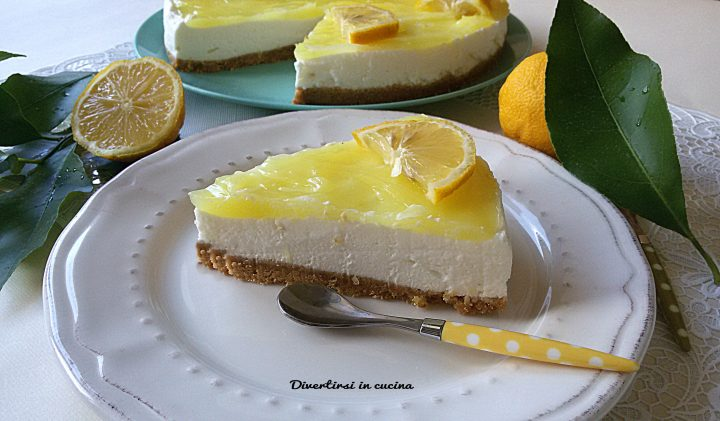 Cheesecake al limone