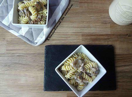 Pasta salsiccia e funghi ricetta Bimby