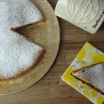 Torta con yogurt limone e Nutella