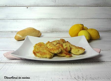 Scaloppine al limone light