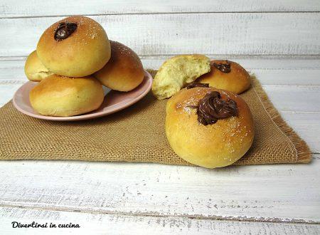 Ciambelle alla Nutella senza patate