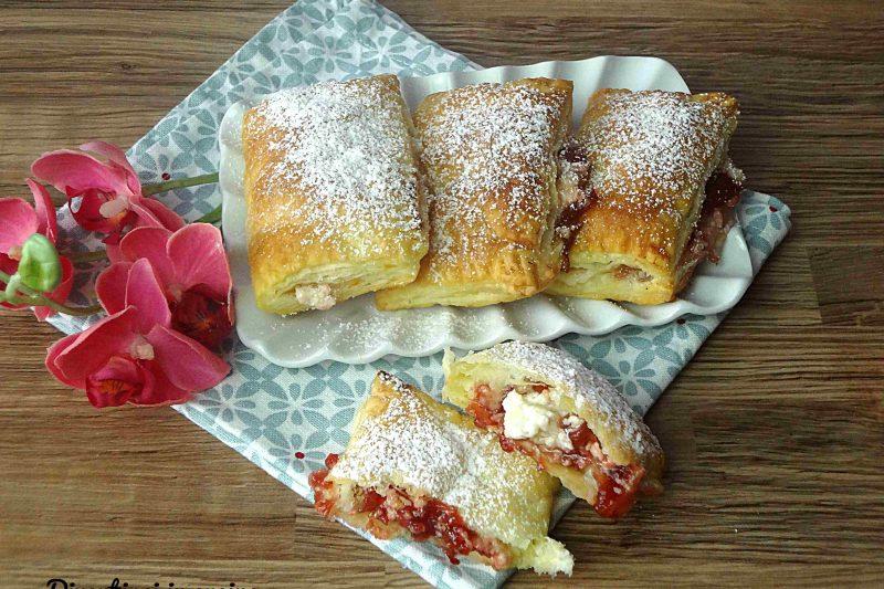 Sfogliatine cheesecake