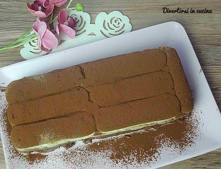 Tiramisù con crema pasticcera e Nutella