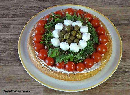 Crostata morbida salata in pochi minuti
