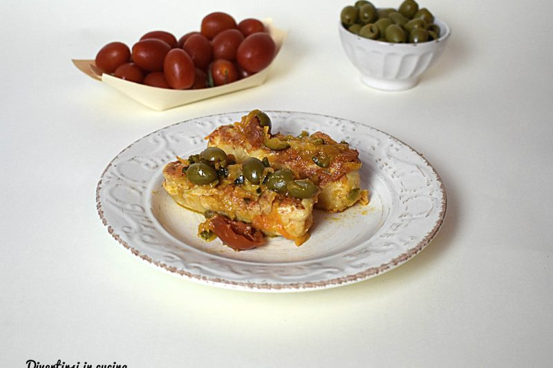 Cuore di merluzzo con verdure miste