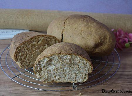 Pane integrale veloce con e senza Bimby