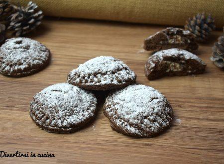 Biscotti di frolla al cacao con ricotta