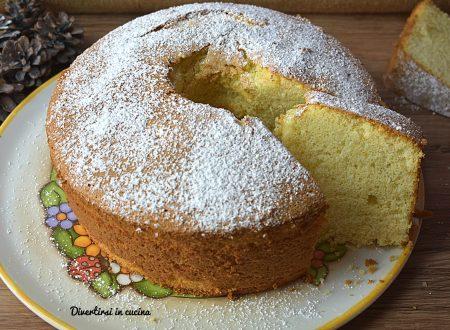 Chiffon cake ricetta facile