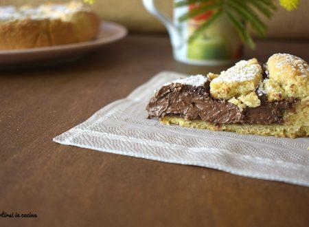 Crostata alla Nutella che rimane morbida