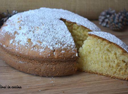 Torta soffice mascarpone e limone