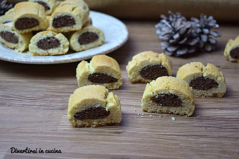 Biscotti doppia frolla al cacao