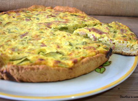 Torta salata zucchine e philadelphia