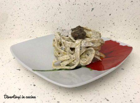 Pasta alla crema di tartufo