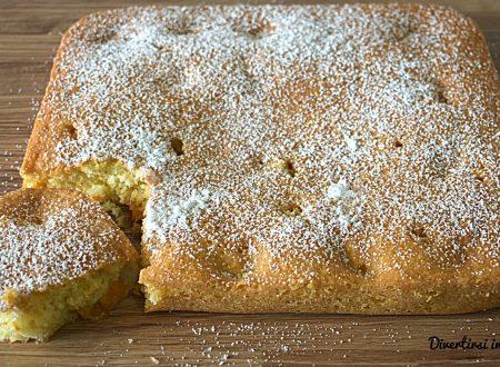 Torta soffice con albicocche