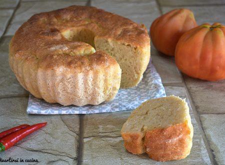 Ciambella di pane con e senza Bimby