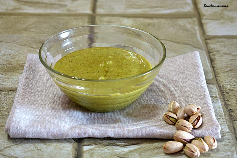 Crema dolce spalmabile al pistacchio Bimby