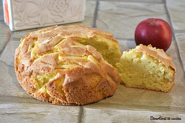 Torta soffice di mele