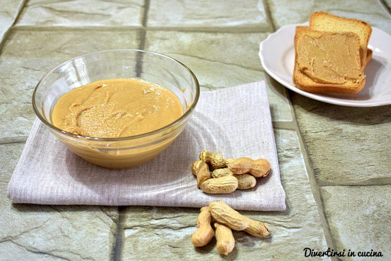 Burro di arachidi Bimby