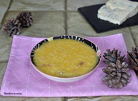 Riso zucca e gorgonzola ricetta Bimby