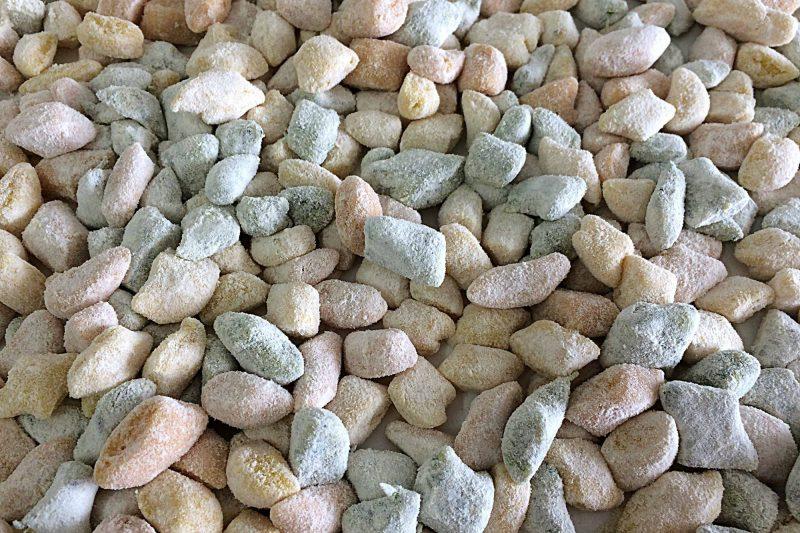Gnocchi di patate tricolori