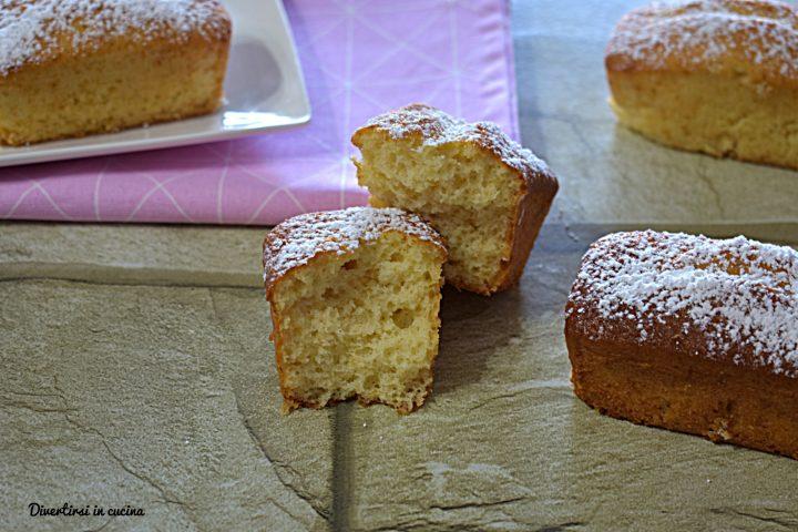 Mini plumcake sofficissimi