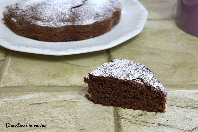 Torta light al cacao e yogurt