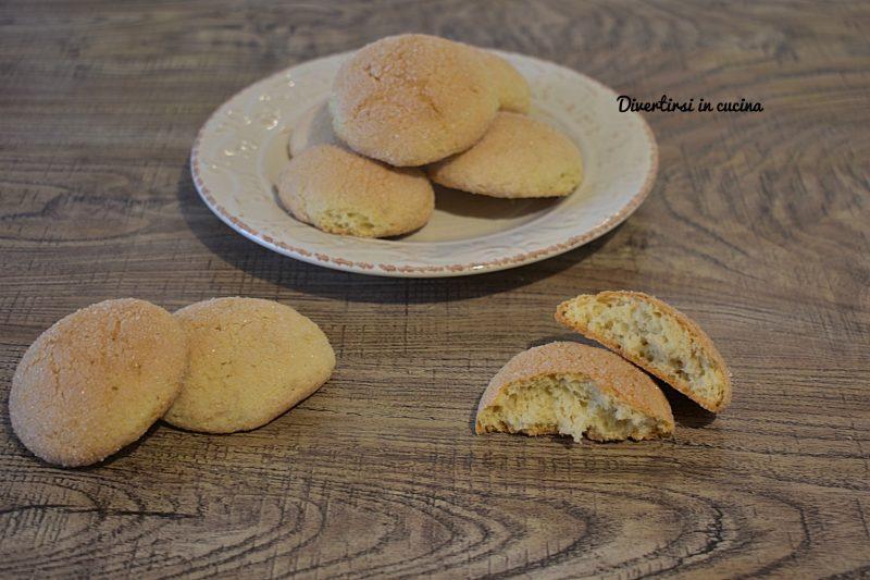 Biscotti da inzuppo morbidi
