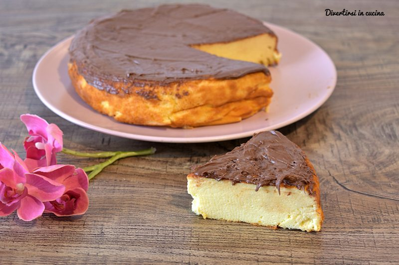 Torta cheesecake alla Nutella