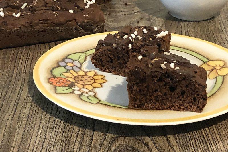 Torta brioche al cioccolato