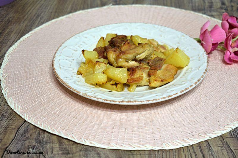 Sovracosce di pollo con patate