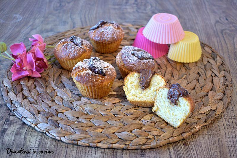 Muffin alla Nutella con friggitrice ad aria