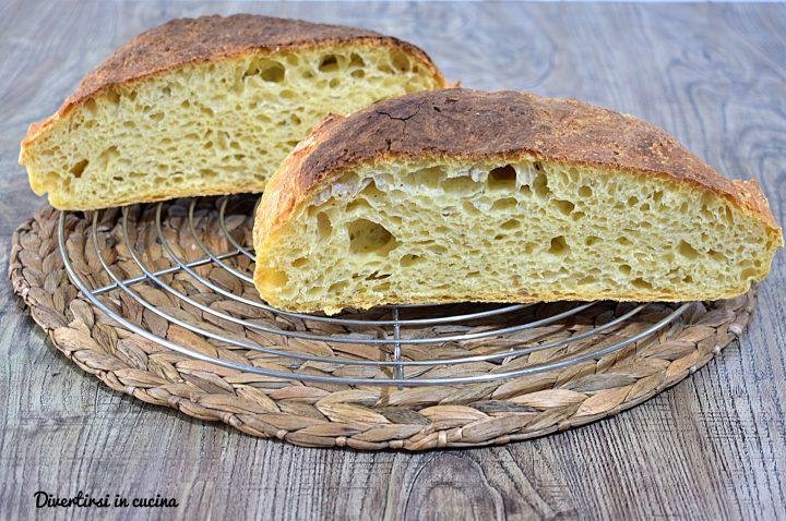Pane con farina di semola