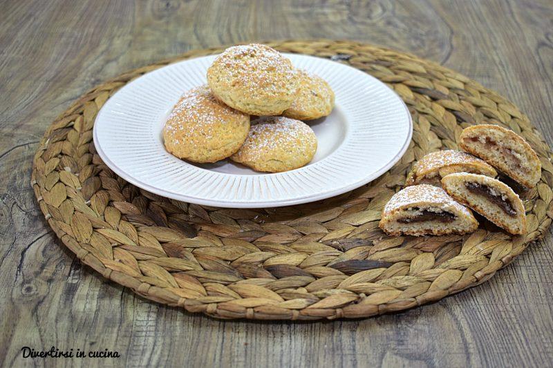 Biscotti con ricotta e Nutella