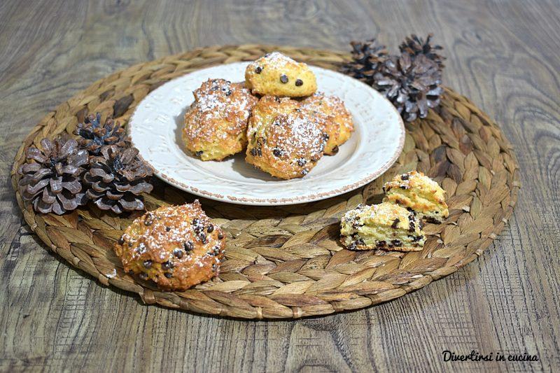 Biscottoni con cioccolato e ricotta