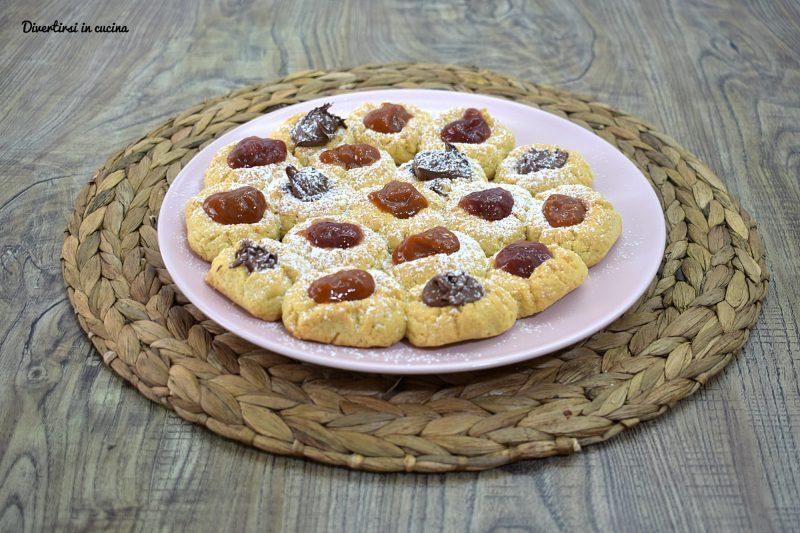 Crostata di biscotti senza burro